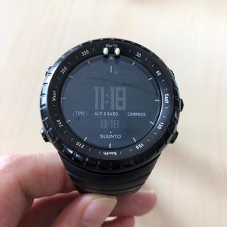 スント(SUUNTO)のSUUNTO CORE ALL BLACK(腕時計(デジタル))