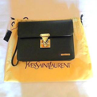 サンローラン(Saint Laurent)のイヴ・サンローラン 新品未使用 セカンドバッグ (セカンドバッグ/クラッチバッグ)