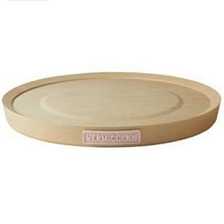 バーミキュラ(Vermicular)のバーミキュラ 22cm用 鍋敷き ホワイトハードメープル×ピンク(鍋/フライパン)