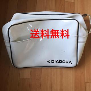DIADORA - 汚れあり DIADORA エナメルバッグ ディアドラ bag スポーツ
