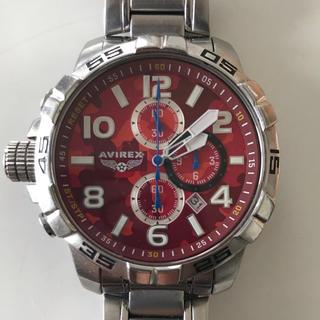 アヴィレックス(AVIREX)のAVIREX カモフラ 腕時計  (腕時計(アナログ))