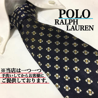 ポロラルフローレン(POLO RALPH LAUREN)のPOLO ポロラルフローレン 高級シルク100% ネクタイ(ネクタイ)