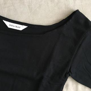 ホリデイ(holiday)のHOLIDAY カットソー(Tシャツ(半袖/袖なし))