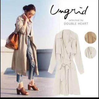 アングリッド(Ungrid)のUngrid テンセル ラップ トレンチコート(トレンチコート)