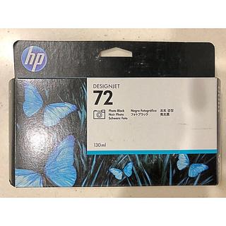 ヒューレットパッカード(HP)の純正品 インクカートリッジ フォトブラック HP72 C9370A 消費期限切れ(オフィス用品一般)