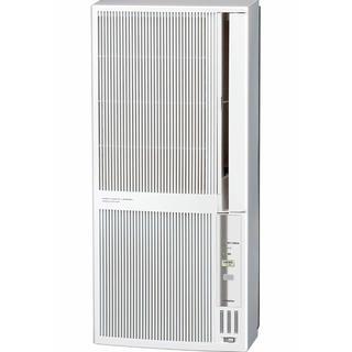 コロナ(コロナ)のウインドエアコン 冷暖房兼用タイプ シェルホワイト  アルミ製標準窓枠同梱。(エアコン)