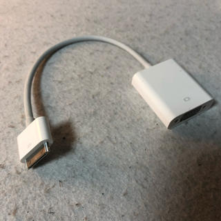 アップル(Apple)のApple アップル VGAアダプタ(映像用ケーブル)