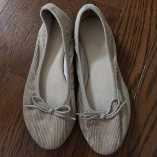 ムジルシリョウヒン(MUJI (無印良品))のバレエシューズ(ローファー/革靴)