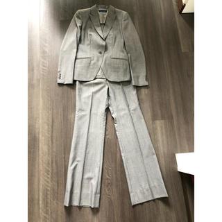 スーツカンパニー(THE SUIT COMPANY)のパンツスーツ ベルト セット グレー(スーツ)