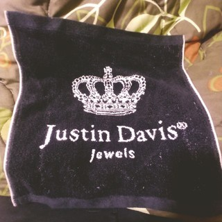Justin Davis - ジャスティンデイビス ノベルティタオル 未使用品 一部難あり