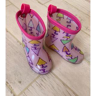 アンパサンド(ampersand)のampersandアンパサンド☆傘柄レインブーツ☆長靴(長靴/レインシューズ)
