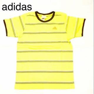 アディダス(adidas)の■新品■ adidas.アディダス、リンガー Tee、イエロー、Mサイズ(Tシャツ/カットソー(半袖/袖なし))