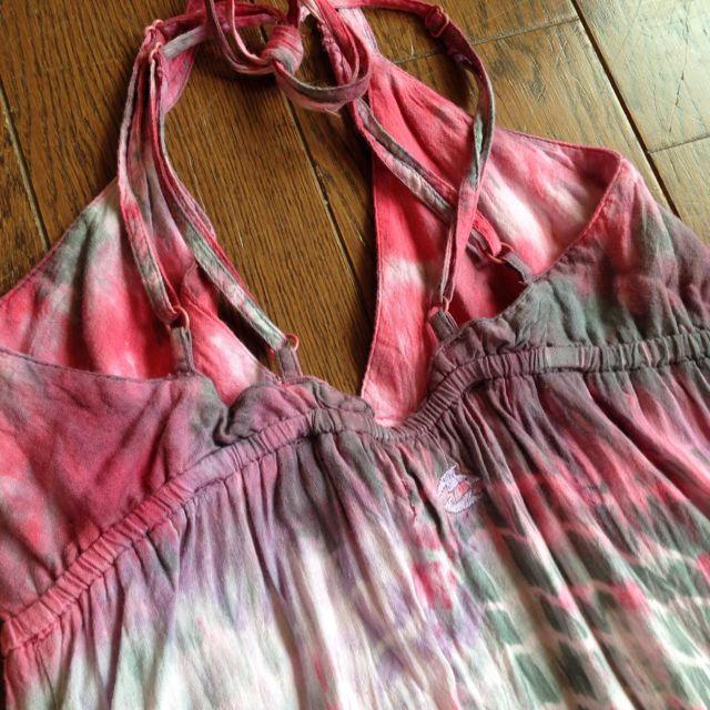 billabong(ビラボン)のビラボンの赤マキシワンピ レディースのワンピース(ロングワンピース/マキシワンピース)の商品写真