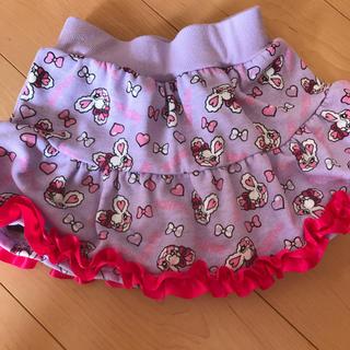ロニィ(RONI)のスカート♡110♡インパン付き♡パープル(スカート)