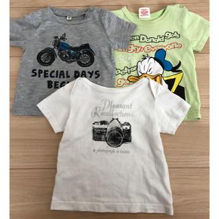 ベビードール(BABYDOLL)のTシャツ 3枚セット 80(Tシャツ)