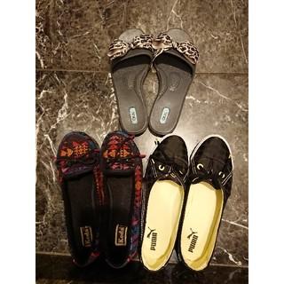 アディダス(adidas)のぺったんこ靴3点 24.5㎝(その他)