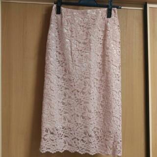 デミルクスビームス(Demi-Luxe BEAMS)のBEAMS レーススカート(ひざ丈スカート)