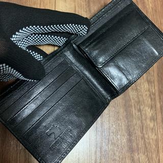 専用 お財布のみ イタリア製馬毛レザー2つ折り財布・本革ライターカバー(折り財布)