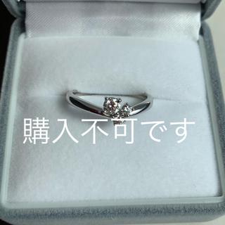 タサキ(TASAKI)のTASAKI ダイヤモンド リング k18 (リング(指輪))