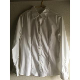 シマムラ(しまむら)の白シャツ(シャツ/ブラウス(長袖/七分))