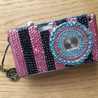 パナソニック(Panasonic)のデジカメ デコ スワロフスキー(コンパクトデジタルカメラ)