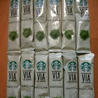 スターバックスコーヒー(Starbucks Coffee)のスタバ ヴィア 抹茶 12本(茶)
