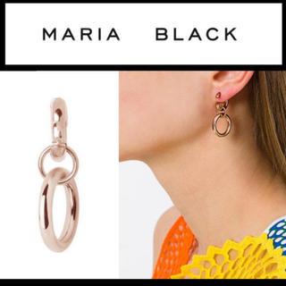 ユナイテッドアローズ(UNITED ARROWS)のMARIA BLACK ピアス ピンクゴールド 片耳(ピアス(片耳用))