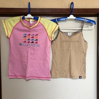 コンバース(CONVERSE)の子供服  女の子向け 2枚(Tシャツ/カットソー)