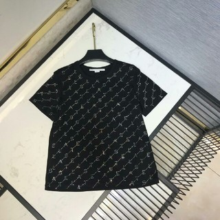ステラマッカートニー(Stella McCartney)のStell Mcc Rtney ブラック Tシャツ メンズ  (Tシャツ/カットソー(半袖/袖なし))