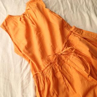 ユナイテッドアローズ(UNITED ARROWS)のオレンジ☆ロングワンピ(ロングワンピース/マキシワンピース)