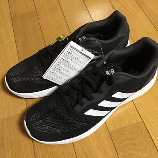 アディダス(adidas)の新品 アディダス   メンズ スニーカー  28cm 黒色(スニーカー)