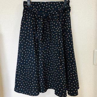 シマムラ(しまむら)のしまむら♡ドットスカート (ひざ丈スカート)