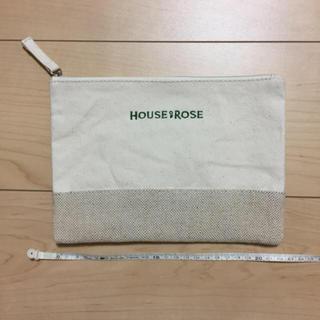 ハウスオブローゼ(HOUSE OF ROSE)のハウスオブローゼ☆オリジナルフラットポーチ(ポーチ)