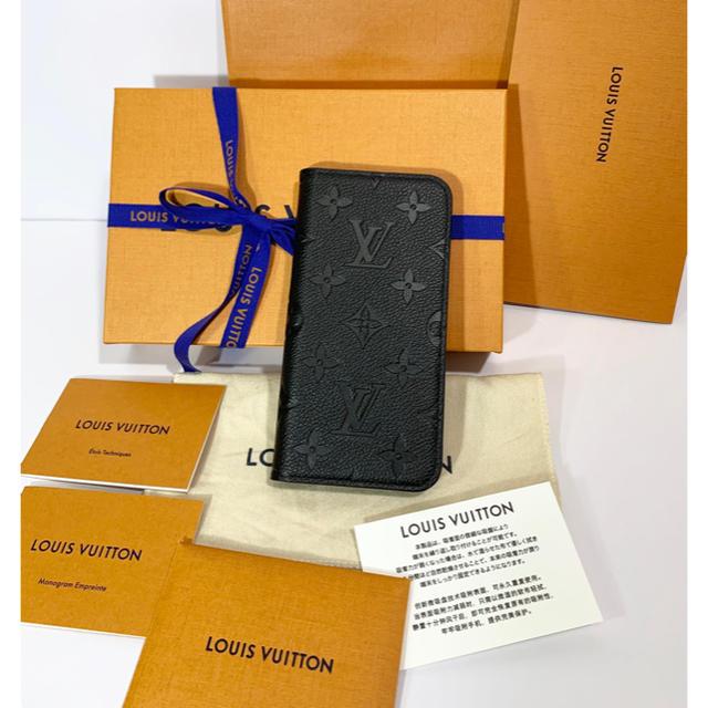 LOUIS VUITTON - 国内完売☆ルイヴィトン モノグラムアンプラントIphoneX・Xsカバーブラックの通販