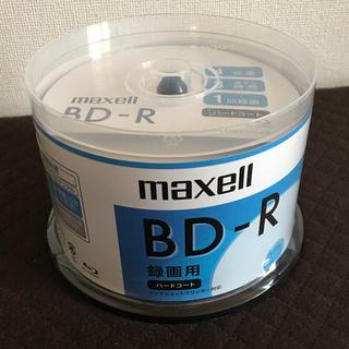 マクセル(maxell)のmaxell ブルーレイディスク 50枚 新品未開封(ブルーレイレコーダー)