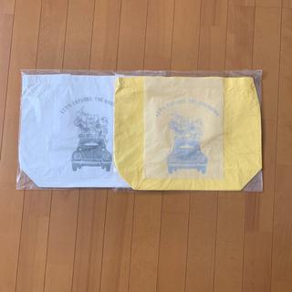 ジャーナルスタンダード(JOURNAL STANDARD)のベイクルーズ12周年記念オリジナルトートバッグ 白 黄色 二枚(エコバッグ)
