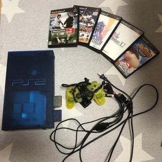 PlayStation2 - プレステ2 本体+ソフト6枚セット