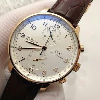 インターナショナルウォッチカンパニー(IWC)のW500113IWCメンズ腕時計ポルトギーゼアナログ自動巻きカレンダ(腕時計(アナログ))