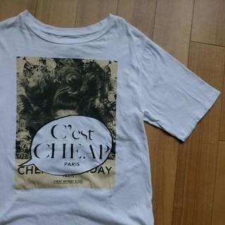 チープマンデー(CHEAP MONDAY)のCHEAP MONDAY チープマンデイ Tシャツ(Tシャツ/カットソー(半袖/袖なし))
