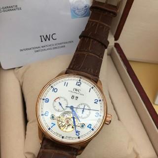 インターナショナルウォッチカンパニー(IWC)のIWC 時計 自動巻き 革(腕時計(アナログ))