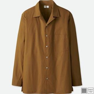 ユニクロ(UNIQLO)のUNIQLO U オープンカラーシャツ(シャツ)