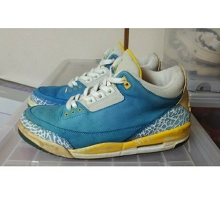 ナイキ(NIKE)のNIKE AIR JORDAN 3 RETRO LANEY/28.5US10.5(スニーカー)