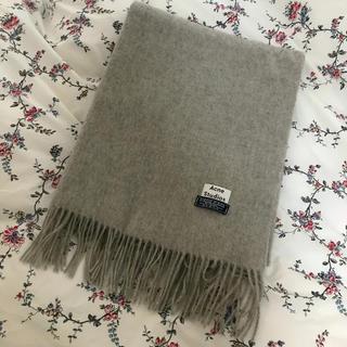 Acne studios wool scarf 専用ショッパー付 大判 100% ストゥディオズ 200*70cm 【最終セール!在庫限り!】 ウール アクネ 送料無料 ストール マフラー