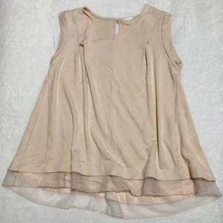 ジーユー(GU)のGU ノースリーブ(シャツ/ブラウス(半袖/袖なし))