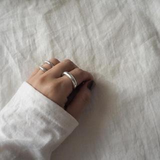 ▫️silver990▫️Emma volume ring(リング(指輪))