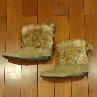 ダイアナ(DIANA)のDIANA ショートブーツ Mサイズ 新品同様(ブーツ)