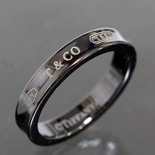 ティファニー(Tiffany & Co.)のティファニー TIFFANY&CO.1837 チタン リング 17.5号 Ti (リング(指輪))