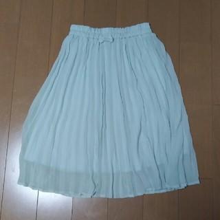 ジーユー(GU)のGU GIRLS プリーツスカート130(スカート)