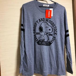 スヌーピー(SNOOPY)のお値下げ新品 SNOOPYロンT(Tシャツ(長袖/七分))