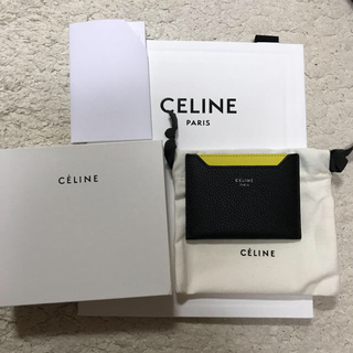 セリーヌ(celine)の新品未使用 セリーヌ カードケース(名刺入れ/定期入れ)